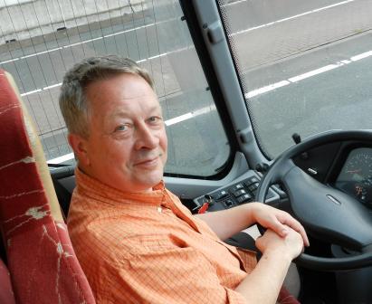 Henk Hospers, chauffeur