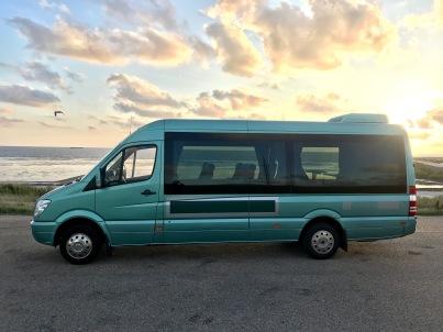Groengrijs minibus Foto Groengrijs:Thea Seinen IMG_9315